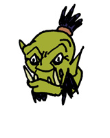 Orc WoW Farbe 1